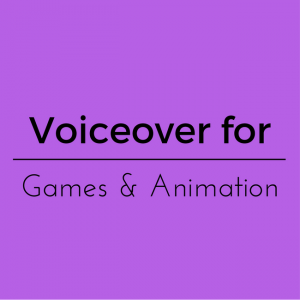 Games voiceover