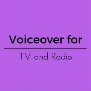 TV Radio Voiceover